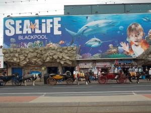SEA LIFE front (Blackpool)